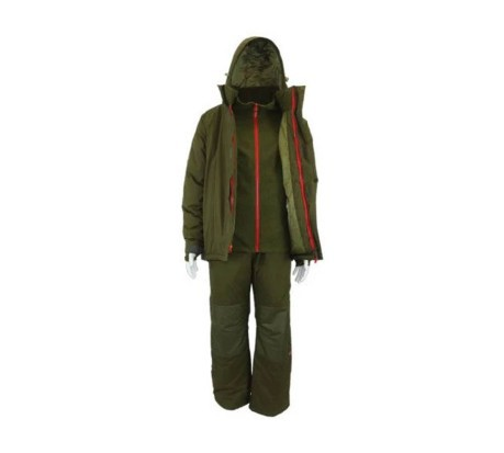 Completo Pesca Core 3-Piece Winter Suite verde
