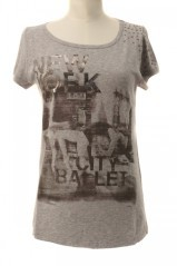 T-shirt donna Stampa Ballerina Deha