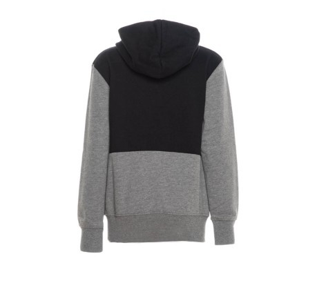 Felpa Junior Jumpman Air Fleece Hoodie grigio nero