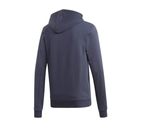 Felpa Uomo Badge Of Sport French Terry Hoodie blu bianco