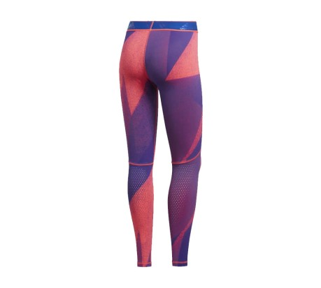 Tights Donna Alphaskin Graphic Long Q1 rosa