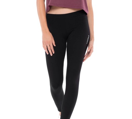 Leggings Donna Basic Cotton Jersey nero