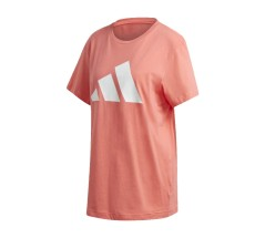 T-Shirt Donna Logo Tee rosso