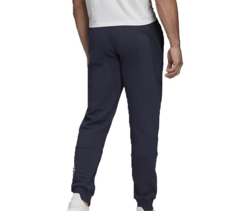 Pantaloni Uomo Badge Of Sport French Terry blu bianco