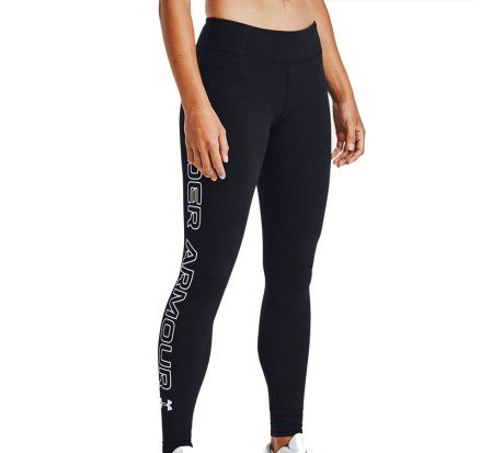 Leggings Donna UA Favorite Wordmark nero