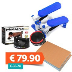 Fitness Bundle Megapex + stepper + materassino