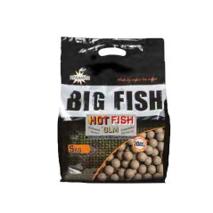 Boilies Pesca Hot Fish & GLM 5kg