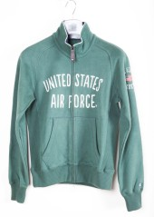 Sweat-shirt hommes de la U. S. Air Force avec zip