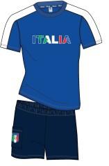 Pigiama Italia ragazzo blu
