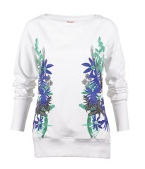 Sweat-shirt femme imprimé Tropical Puma