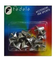 Tacchetti da calcio in alluminio conici