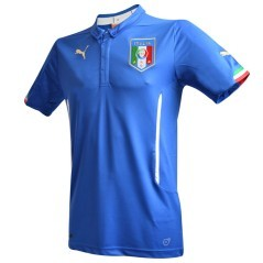 The first replica football shirt Italy World cup 2014