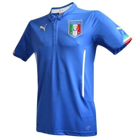 28d8364f9 Maglia Italia Home 2014 colore Azzurro - Puma - SportIT.com