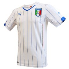 The second replica football shirt Italy World cup 2014