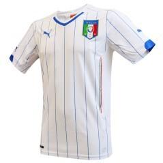 Seconda maglia calcio replica Italia Mondiali 2014