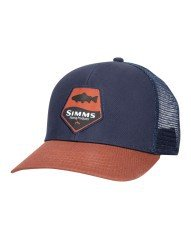 Cappello Trout Patch Trucker Simms