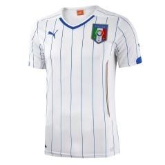 Seconda maglia calcio Italia Mondiali 2014 junior