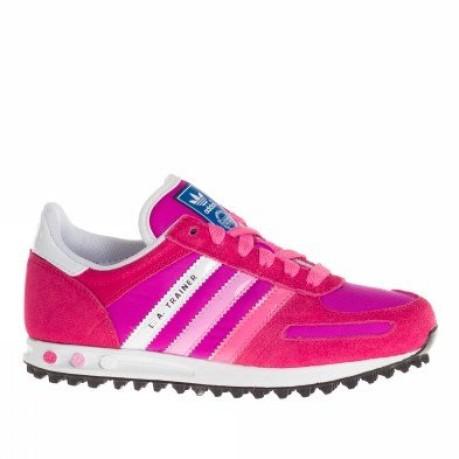 Intolerable Ubicación Lío  Zapatos de niña L. A. Trainer Niño colore Rosa - Adidas - SportIT.com