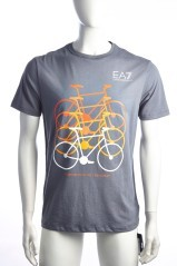 T-shirt uomo Train City Bike