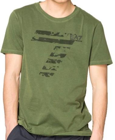 8fc1491b T-shirt mens Train Graphic colore Green - Ea7 - SportIT.com
