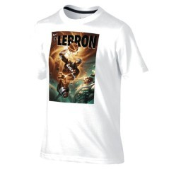 T-shirt bambino Lebron James Hero