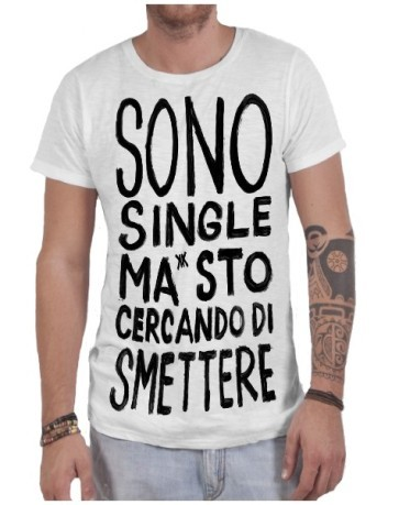 T-shirt uomo Sono Single