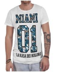 T-shirt uomo Miami 01