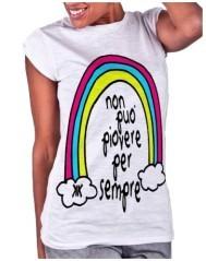 T-shirt donna Non Può Piovere