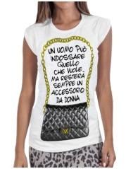 T-shirt donna Uomo Accessorio