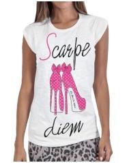 T-shirt donna Scarpe Diem