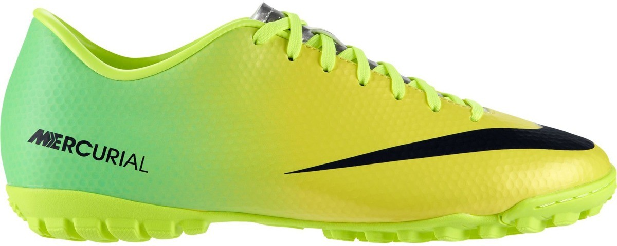 Shoes soccer men Mercurial Victory IV TF colore Yellow Green - Nike -  SportIT.com 075707c97544b