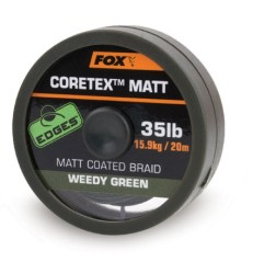 EDGES CORETEX MATT - Weedy Green 35lb - 20m