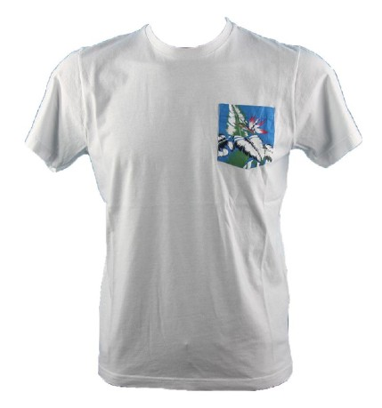 T-shirt uomo Pocket Hawaii