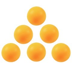 Palline ping-pong arancioni