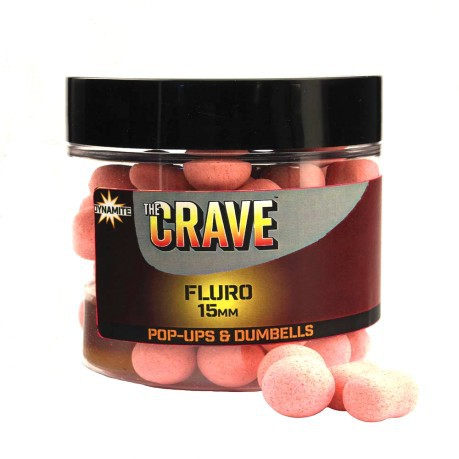 The Crave Fluro Pop-Ups 15 mm
