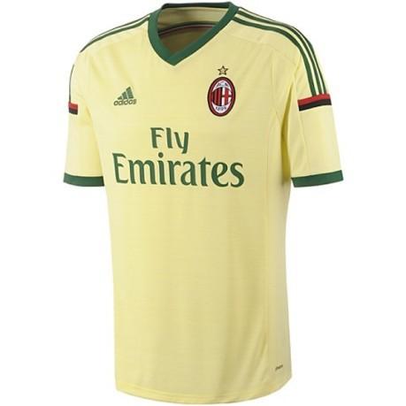 1fa3357a3164f5 Maglia uomo ufficiale AC Milan 3 colore Giallo Verde - Adidas ...