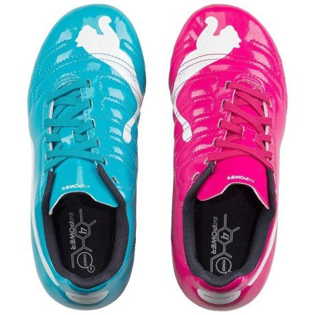 puma evopower rosa azul