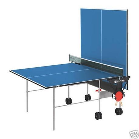 Tavolo ping pong training indoor colore blu garlando - Tavolo ping pong interno ...