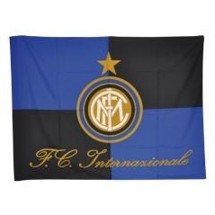 Bandiera Inter con asta