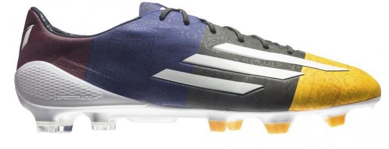 wholesale dealer b8fb2 6c19a Football boots Adidas F50 Adizero Messi TRX FG colore Orange Blue - Adidas  - SportIT.com