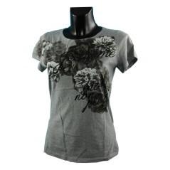T-shirt stampa a fiori