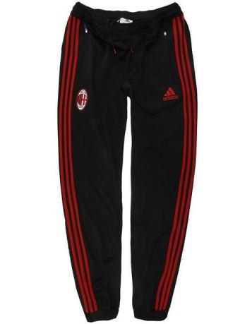 Tuta uomo AC Milan Pes Suit colore Nero Rosso - Adidas - SportIT.com af7bddc2b7a8