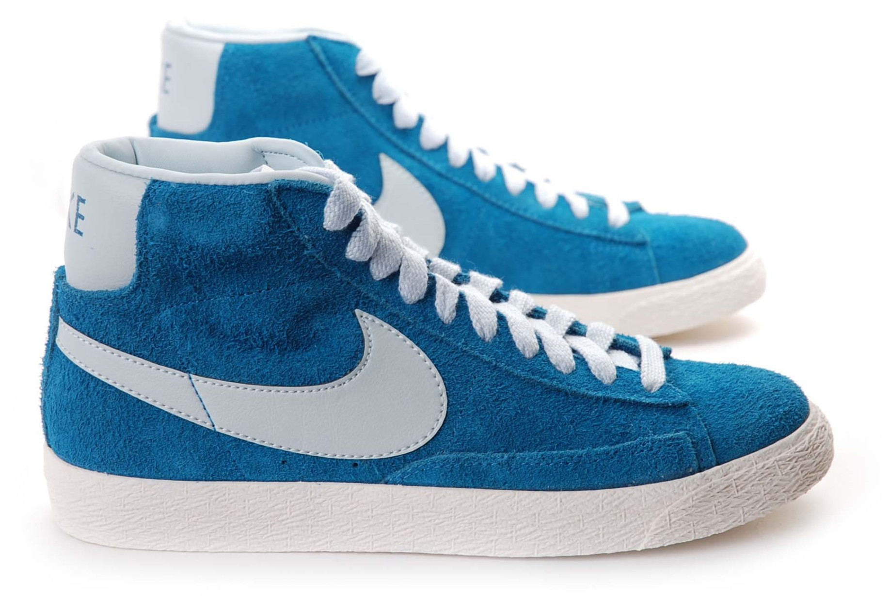 new style 8558d cd120 Shoes mens Blazer Mid Premium Vintage colore Blue - Nike - S