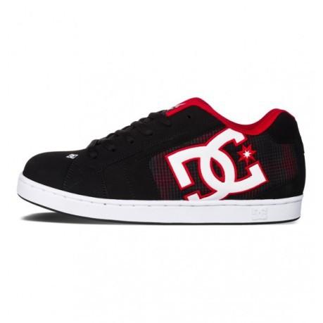 Net DC Shoes nere e rosse da uomo