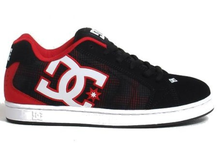Net DC Shoes nere e rosse da uomo