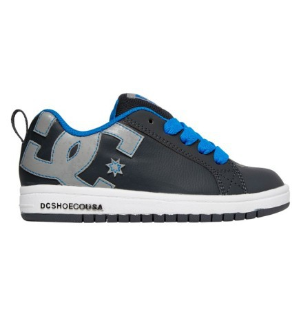 Bambino Court Colore Shoes Grigio Blu Scarpe Graffik Dc Qrtshd