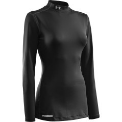 Thermische mesh damen Coldgear Fitted Mock