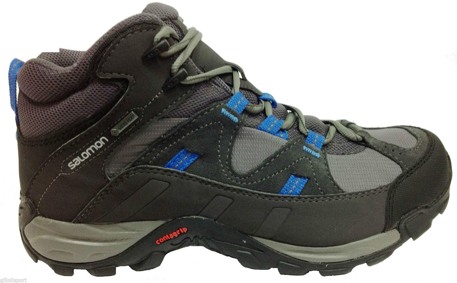 Boots men Manila Mid GTX colore Grey - Salomon - SportIT.com 850de6acfb