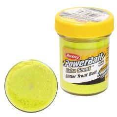 Powerbait Glitter Trout Bait Fluo Arancio