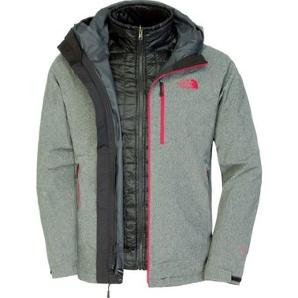 Jacket mens Thermoball Triclimate colore Grey Black - North Face -  SportIT.com d6aa38ec017e